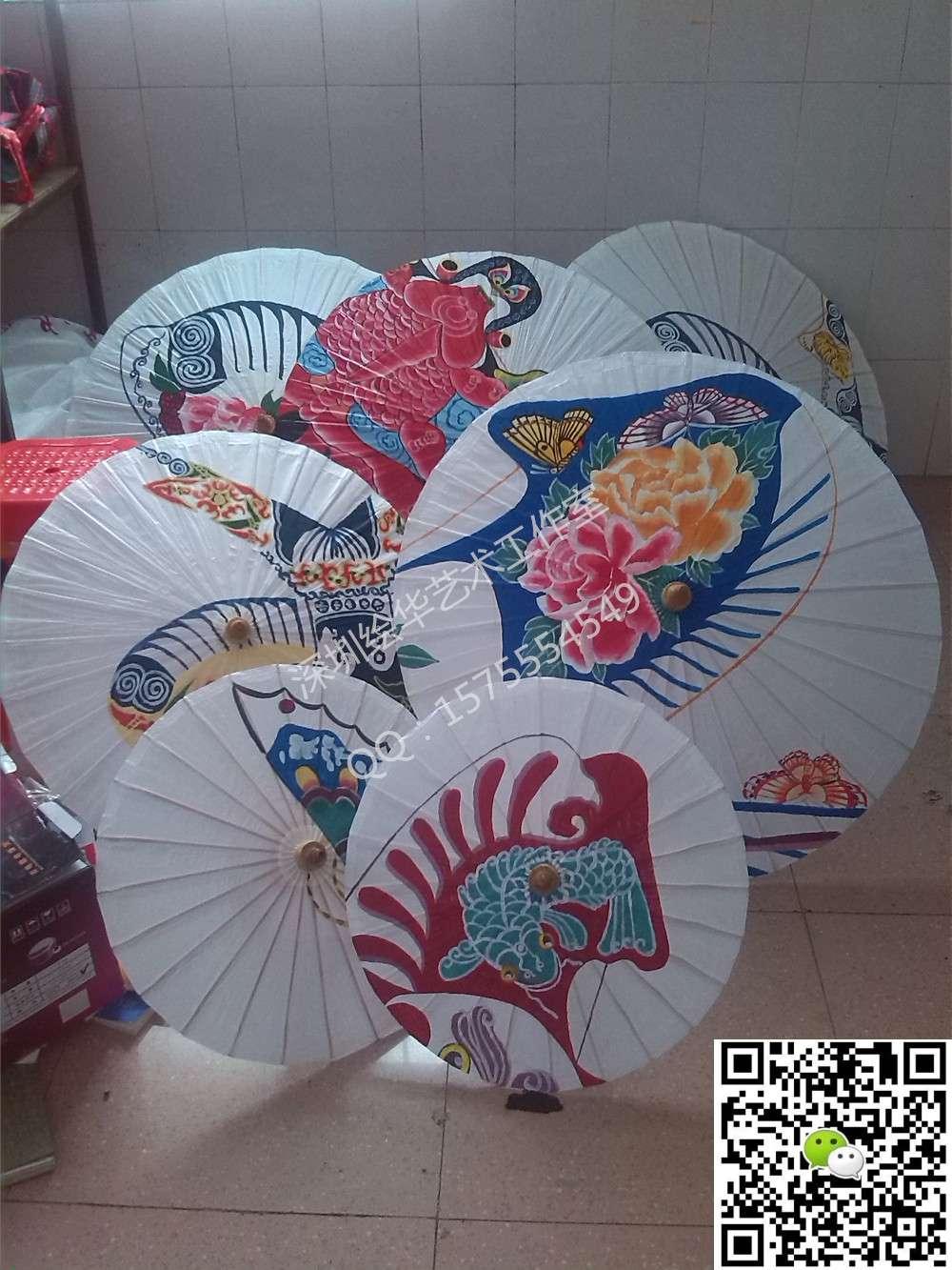 手绘油纸伞